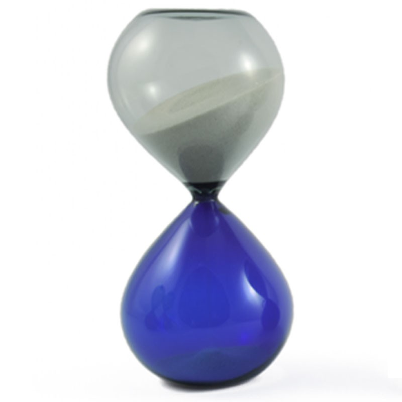 Hourglass Glass Murano Lume Incalmo Blown Handmade
