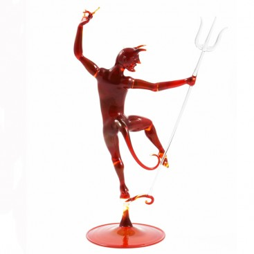 Devil with trident